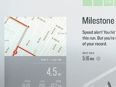 Nike+ Run Tracker by Josh Rhode