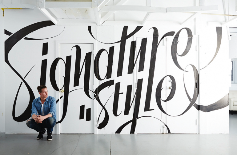 Signature Style – Designlines Mural on Inspirationde