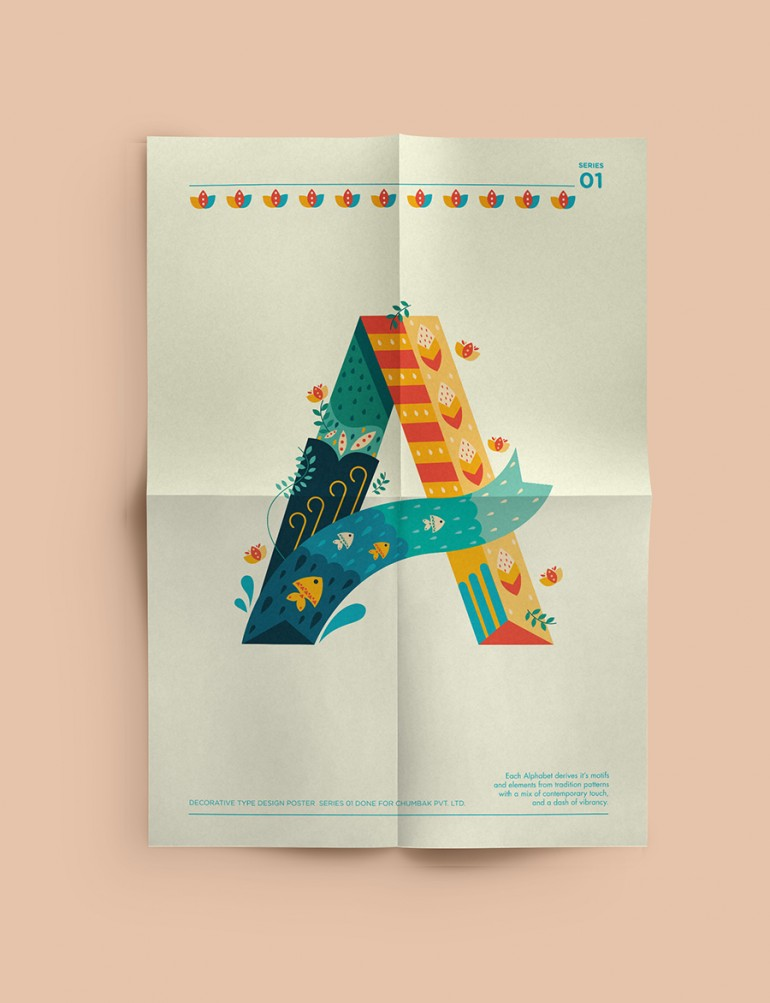 Decorative Type posters on Inspirationde