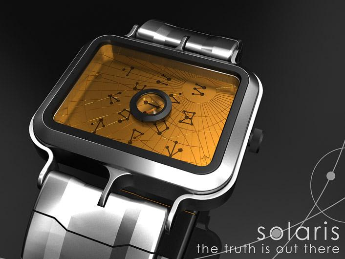 S-Line mystic watch predicts the time. | Tokyoflash