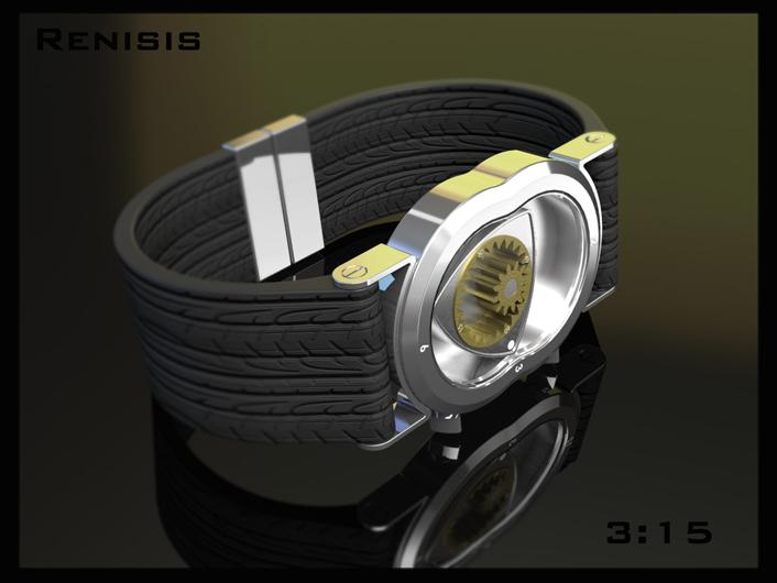 Renesis watch sets gears in motion. | Tokyoflash