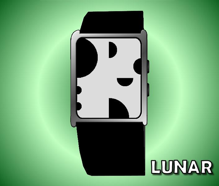 Lunar watch perfect for citizens of Moon Base Alpha. | Tokyoflash