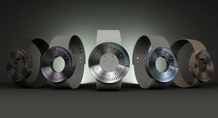 Minimo - Aluminum LED Watch Design   Tokyoflash