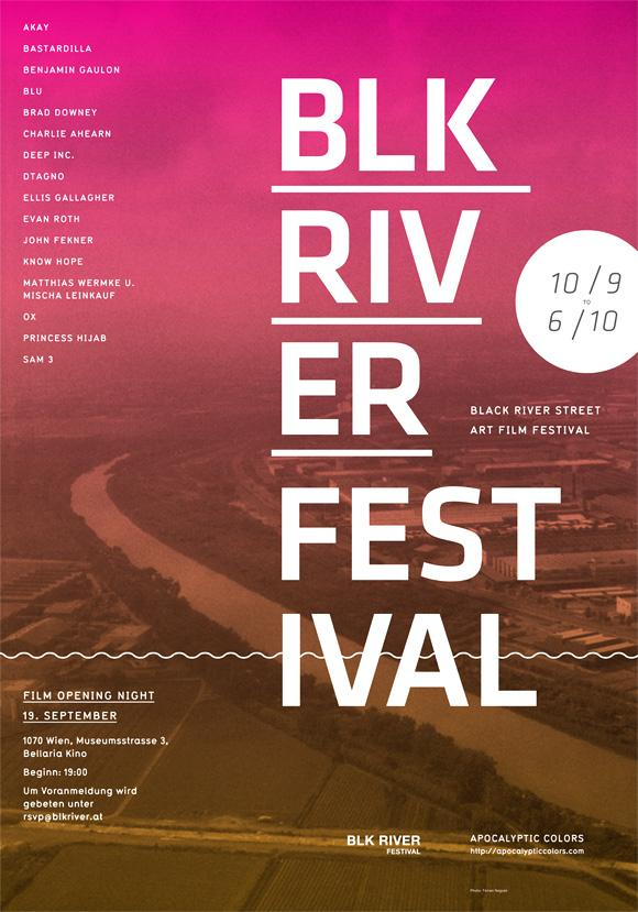 BLK River Festival – Ed Nacional / Graphic Designer / Brooklyn, NY / Bench.li