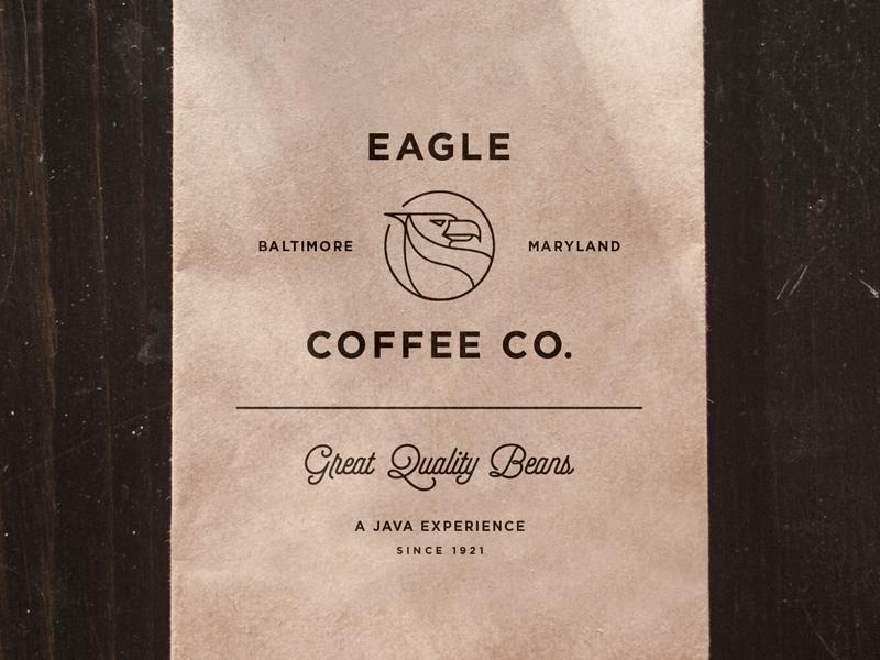 Eagle Coffee Bag pt.I by Salih Kucukaga