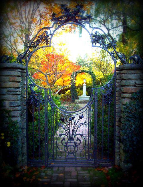Beautiful Portals | Garden Gate, Dumbarton Oaks, Washington DC photo...