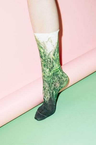Sock in Abstract Pantones