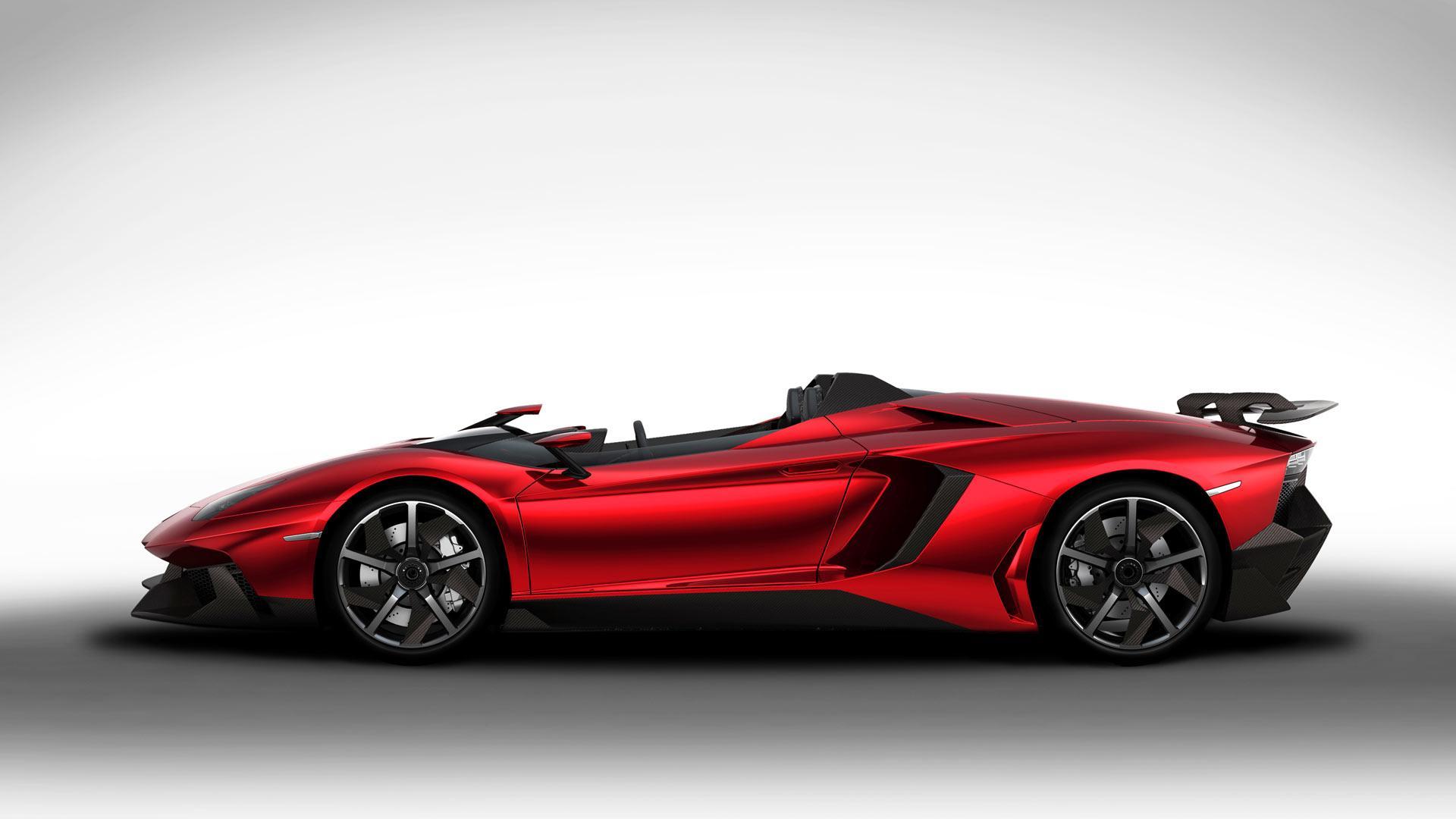 Lamborghini Aventador J - Car Body Design