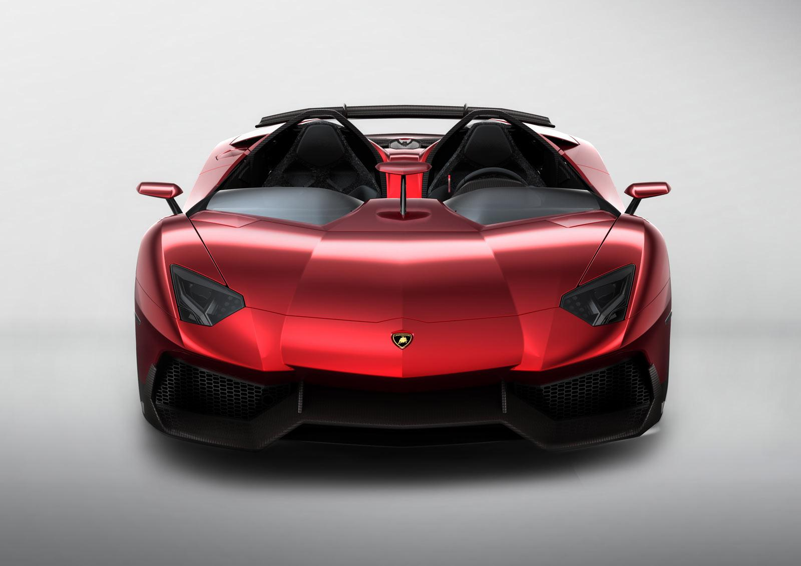 Lamborghini Aventador J - Car Body Design