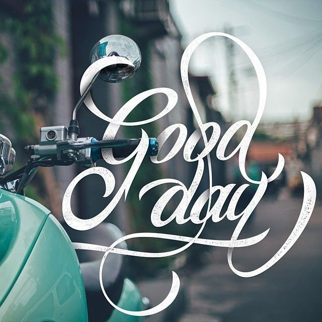 Good day by @bryanikhsn in Typography