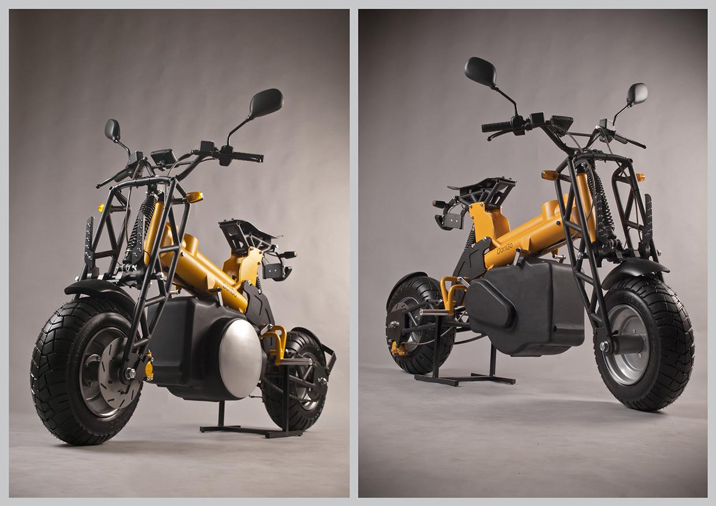 Как сделать модульный мотоцикл