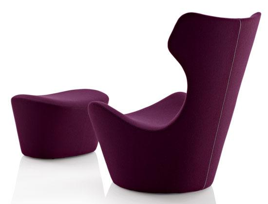 Product Wars: GRANDE PAPILIO Armchair and Ottoman