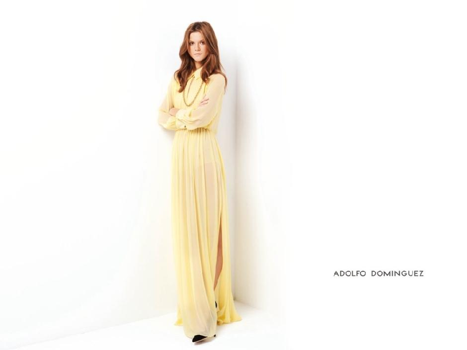 Kasia Struss: Adolfo Dominguez S/S '12 Campaign > photo 1833568 > fashion picture