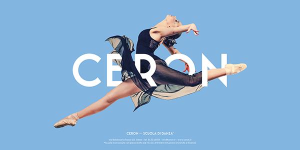 Ceron Dance School - Posters Design on