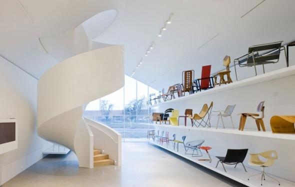 Architecture Photography: AD Classics: Vitra Design Museum and Factory / Frank Gehry - vitra11 (211297) - ArchDaily