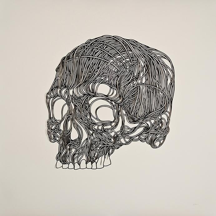 Max Gartner paper illustration in Illustration