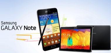 Le Samsung Galaxy Note, des capacités tactiles bluffantes pas chères