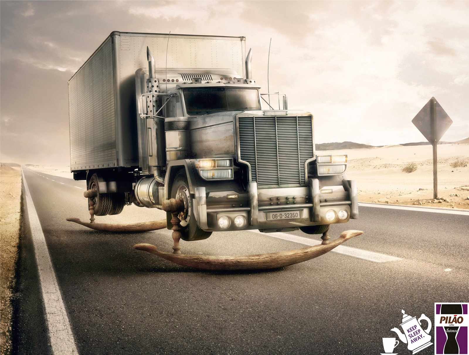 Pilão Intense Coffee: Truck | Ads of the World™