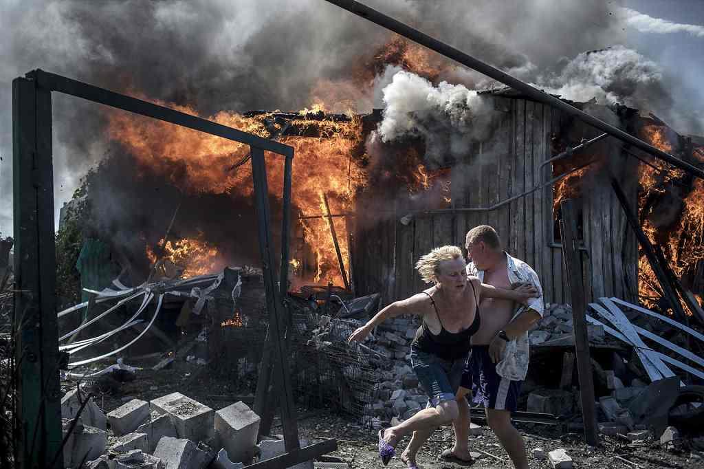 Black days of Ukraine by Valery Melnikov