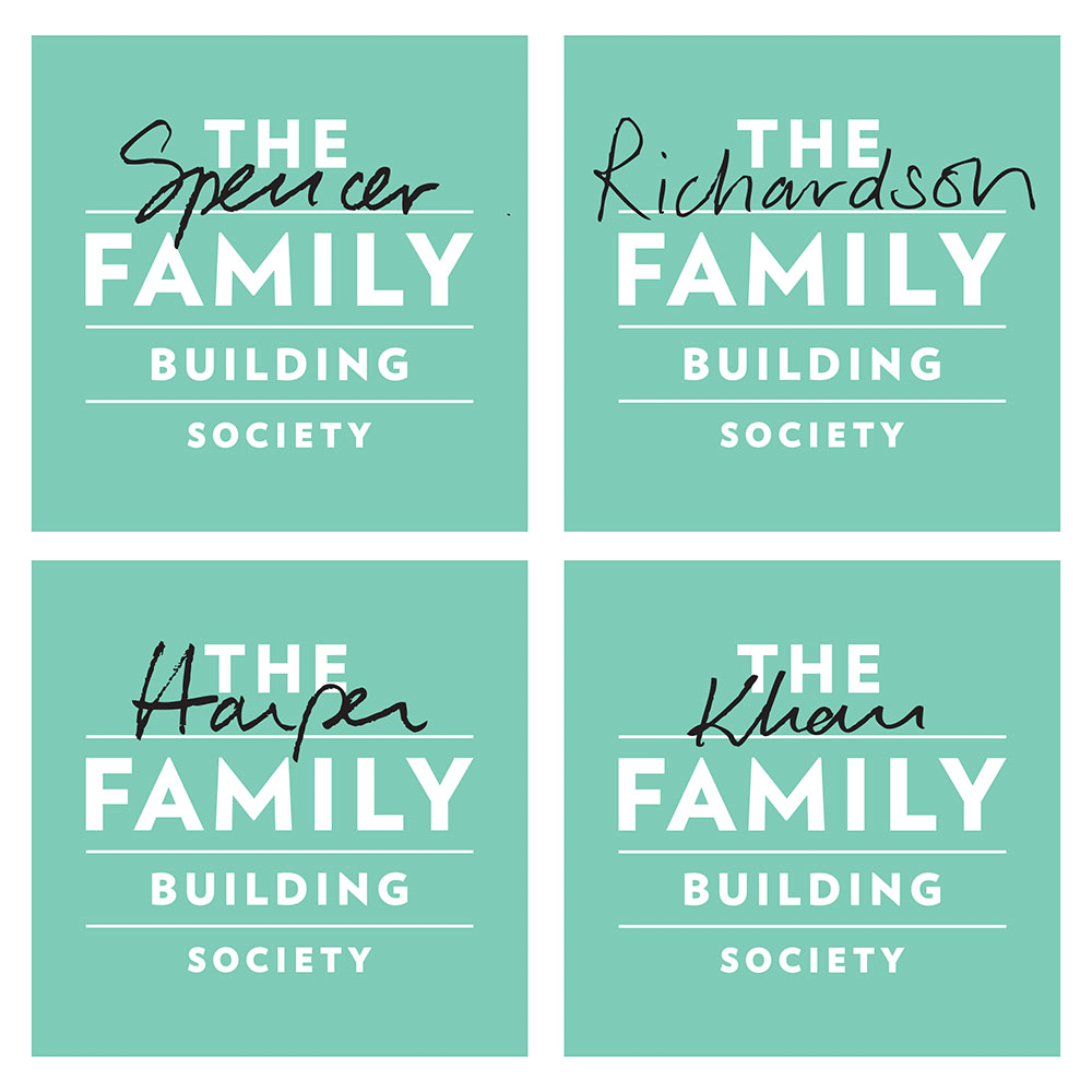 Brand New: New Logo and Identity for The Family Building Society by johnson banks