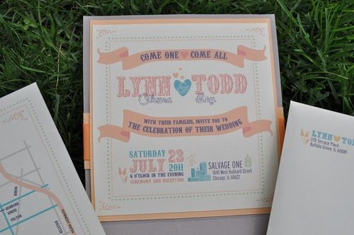 50 Stunning Wedding Invitations | You the Designer