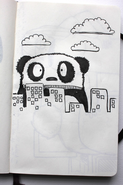 Drawn on