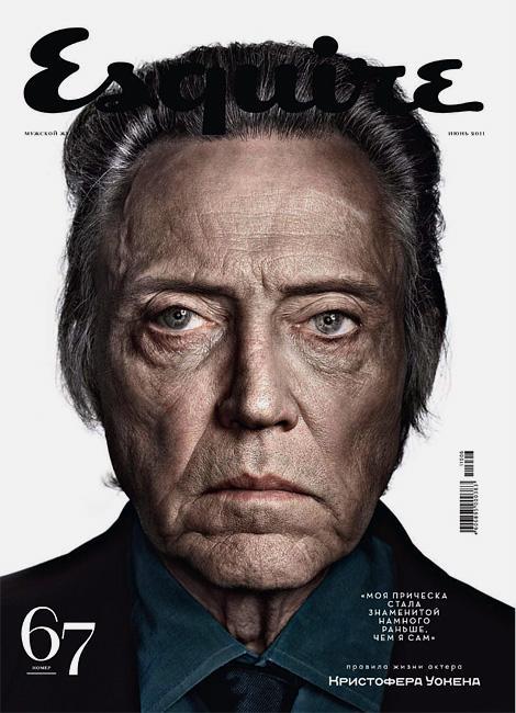 Esquire Russia: Christopher Walken | iainclaridge.net