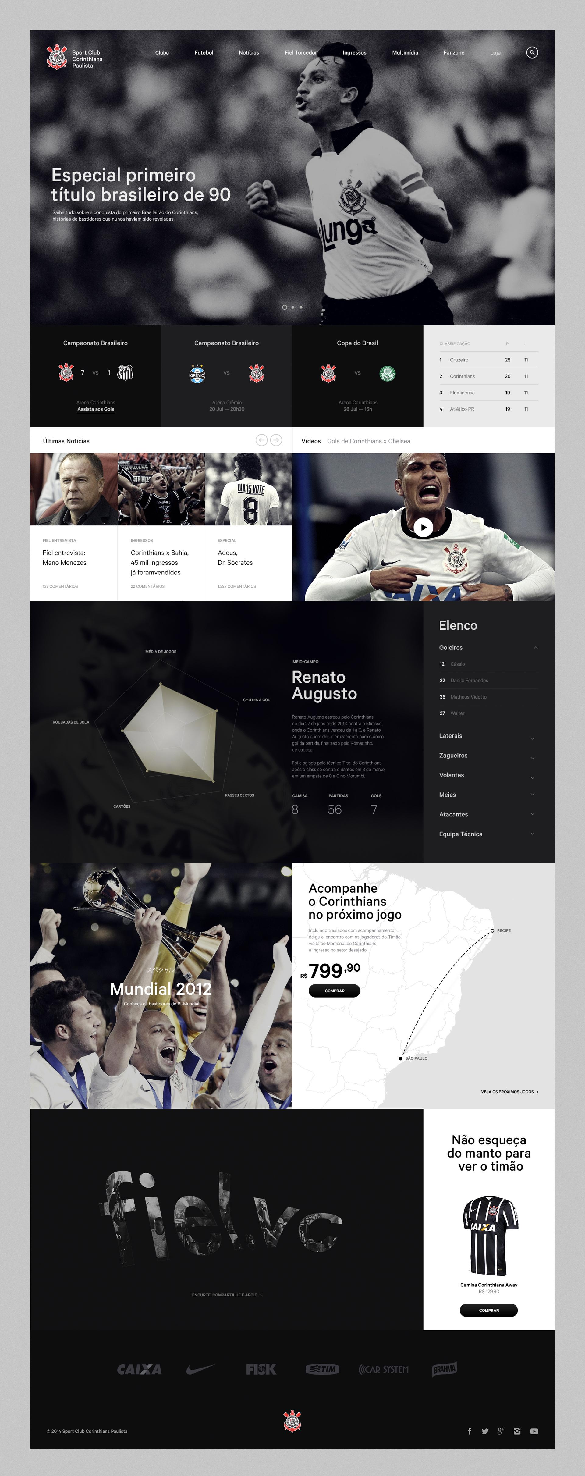 Corinthians - Danilo Campos — Designer & Art Director