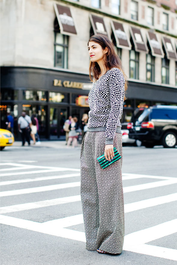 First Look from Fashion Week, New York Â« The Sartorialist