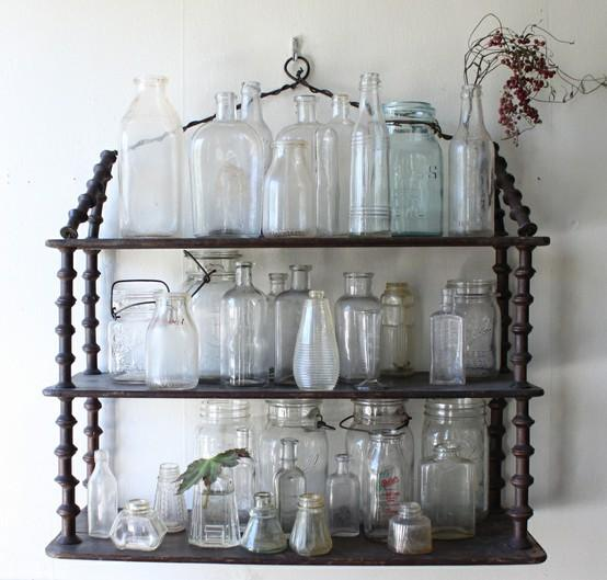 Display / Glass Bottles