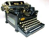 1919 ROYAL No 10 TYPEWRITER with Double by WellWudJaLookAtThat
