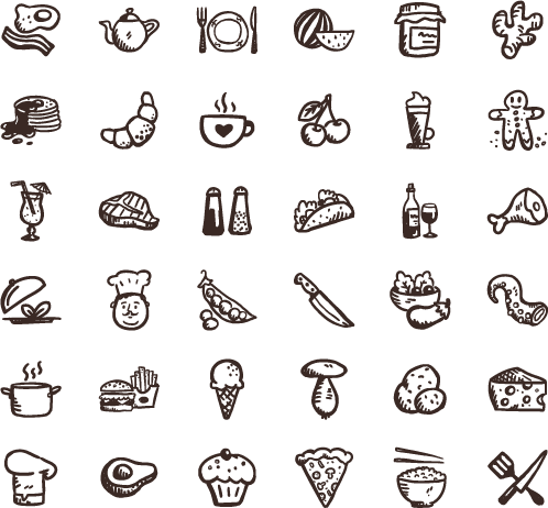 Tasty Icons Free — 36 free food icons