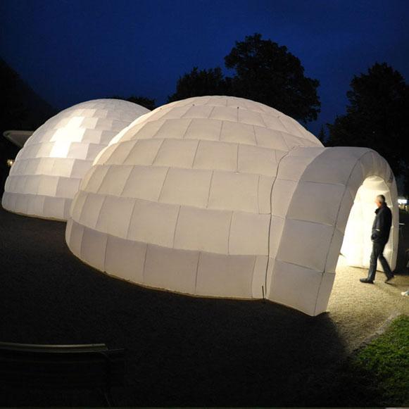 Bem Legaus!: Iglu inflável