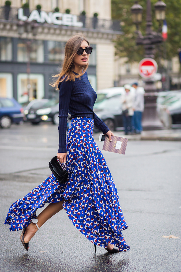 Shop Patricia Manfield's Graphic Floral Skirt - Summer, Shopping, Floral Prints