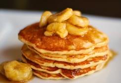 Banana Pancakes :: Recipe Kitchen