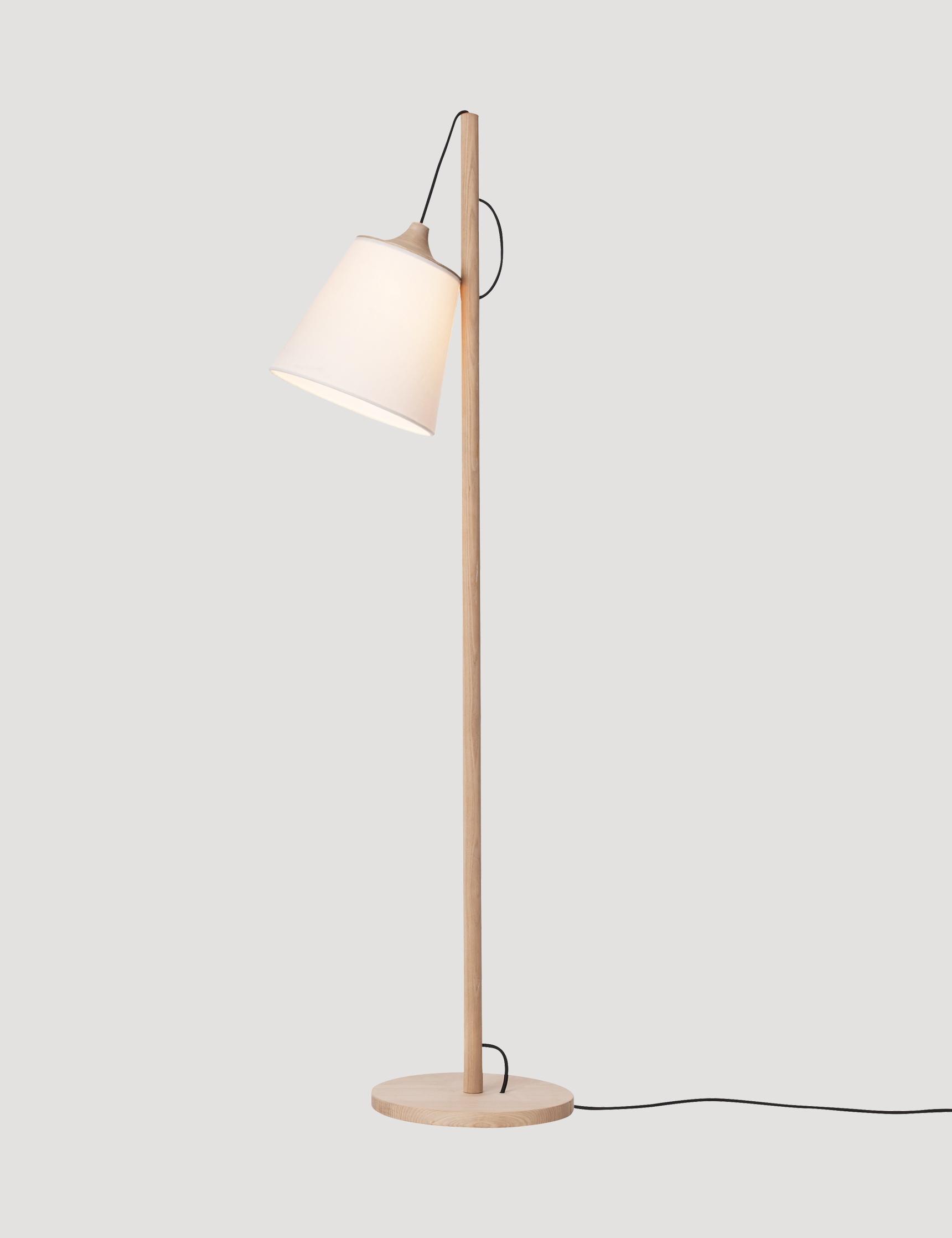Scandinavian Floor Lamp: Pull - Modern Scandinavian Design Floor Lamp by Muuto - Muuto,Lighting