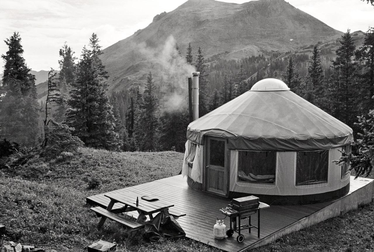 Cabin Porn: Yurt in San Juan Mountains between Ouray and...