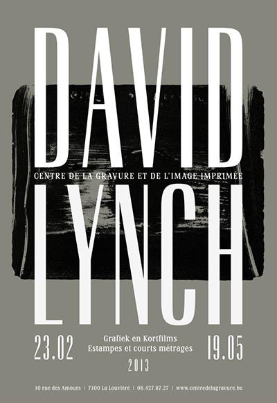 Tonight : David Lynch - Circle of Dreams @ Centre de la gravure - La Louvière | EMPORIUM'S