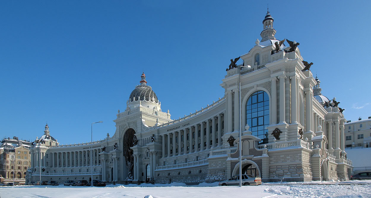 Kazan | Agriculture complex administration | 2010 neo-empire style - SkyscraperCity
