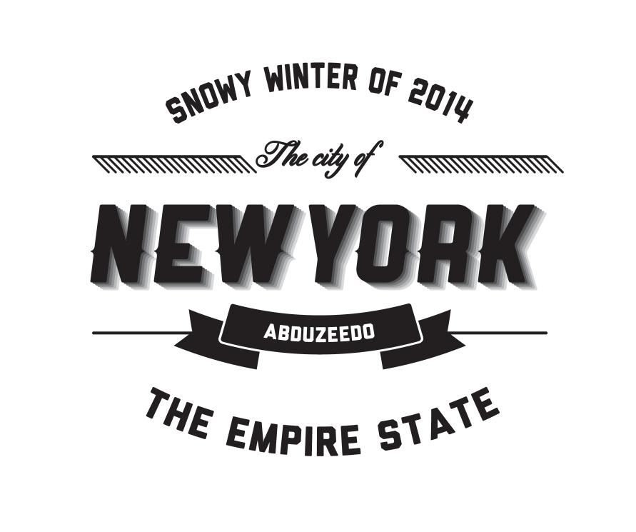 Typographic Logo in Illustrator and Photoshop | Abduzeedo Design Inspiration