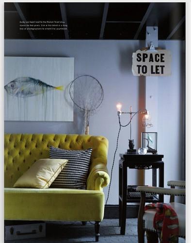 art in homes / ochre