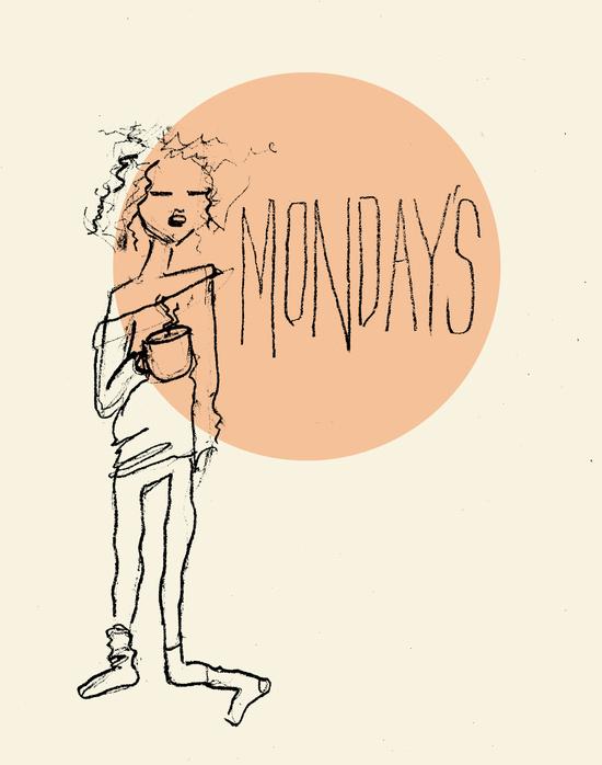 Monday's Art Print by Hannaray | Society6