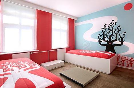 Artist-Designed Interiors: Art Hotel Bedroom Designs | Designs & Ideas on Dornob