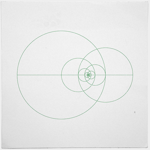 #373 Fibonacci orbits – A new minimal geometric composition each day in Silence. Sound. Echo