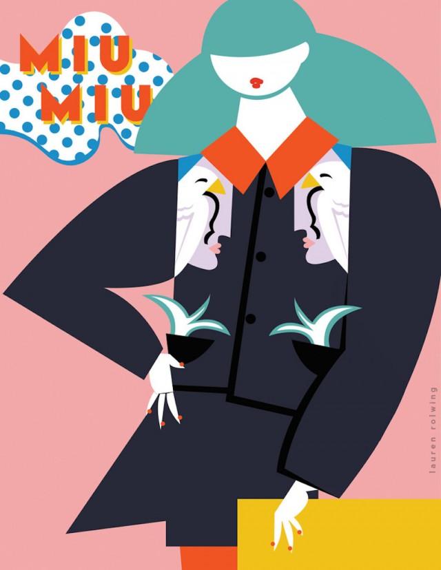 Fashion Revisited as 80s Pop Graphic Illustrations – Fubiz™