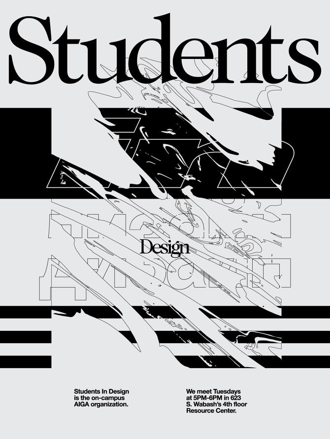 Students In Design Poster - Alex Van Dorp