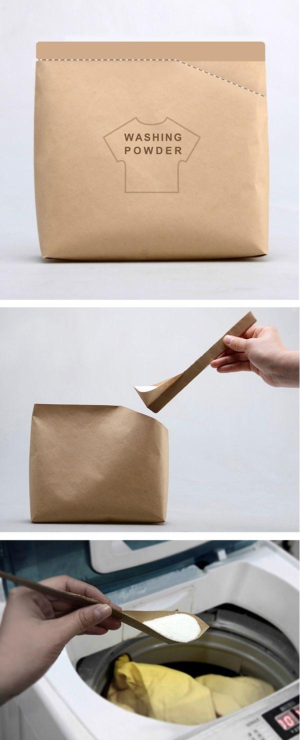 Washing powder packaging | Packaging & label designs | Pinterest
