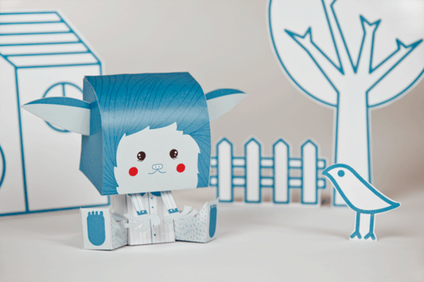 Coloretes - Paper Toy on Toy Design Served