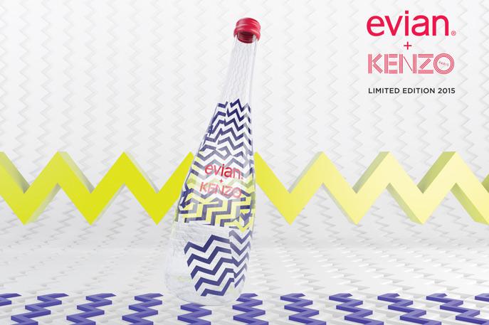Evian x Kenzo | Fashion | ELLE Malaysia