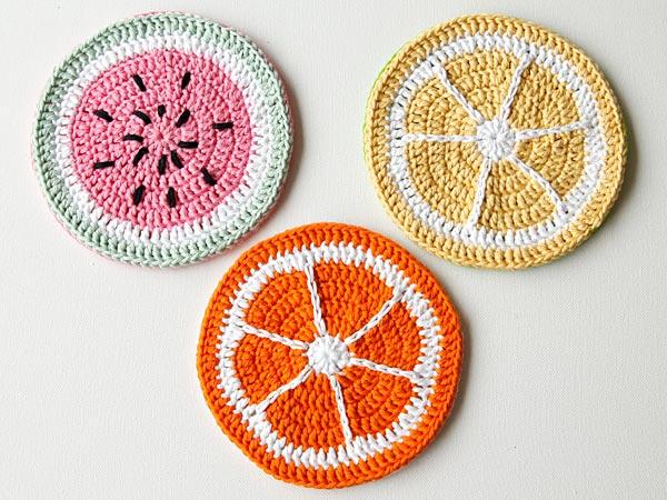 How to Crochet Tutti Frutti Potholders - Tuts+ Crafts & DIY Tutorial